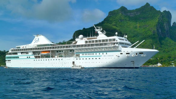 Photo Tour A Cruise Ship That Calls Tahiti Home - Cruise to tahiti