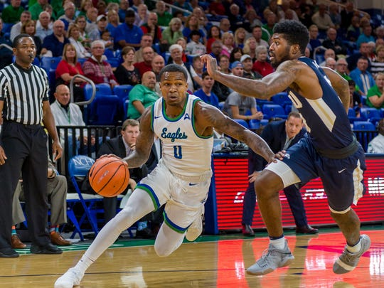 FGCU senior guard Brandon Goodwin, his team's leading scorer, insisted the Eagles can pull off a win at No. 11 Wichita State despite all the problems that have led to a 7-6 start.