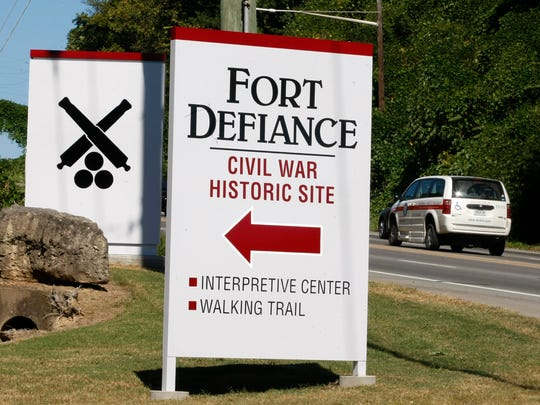 New, large, signs direction to Fort Defiance have been installed along Providence Boulevard. William Parker, Historical Interpreter, said all the money to have the signs done were paid through donations.