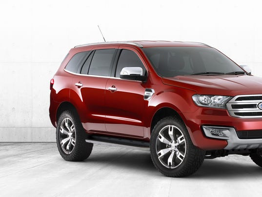 Ford Everest Usa >> Is this the next version of the Ford Explorer?