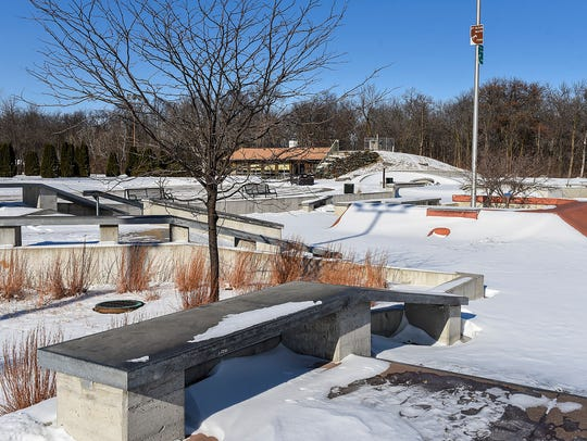 The skate park, shown Tuesday, Feb. 6, in Heritage
