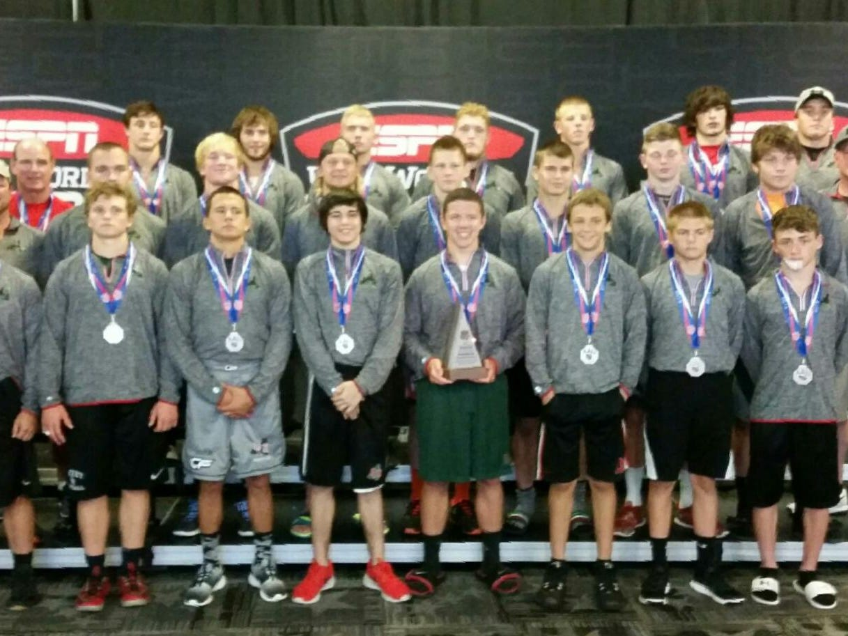 Oak Harbor finished second in Community Division II at the AAU Scholastic Duals national championship wrestling tournament last week at Walt Disney World Resort in Kissimmee, Fla. for the third consecutive year.