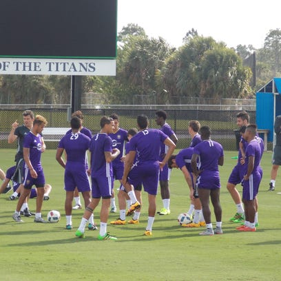 The Orlando City Soccer Club has been working out at