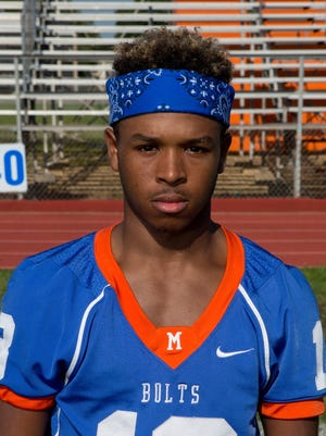 Maurice Lewis at Millville High School football media day in 2015.