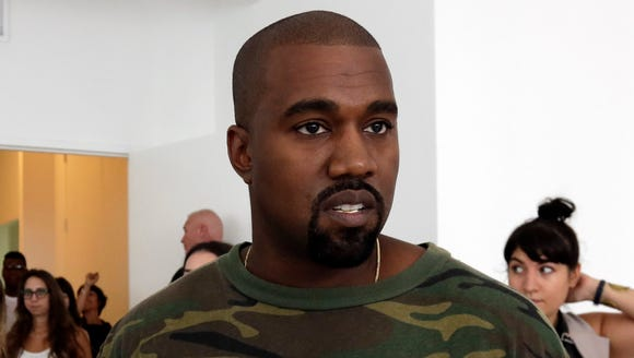 Kanye West with a simple Grammys request.