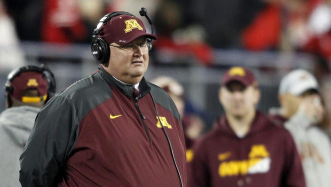 Tracy Claeys was named Minnesota's head coach on Nov. 11, 2015, succeeding his good friend Jerry Kill, who resigned his position on Oct. 28, 2015, due to health reasons.