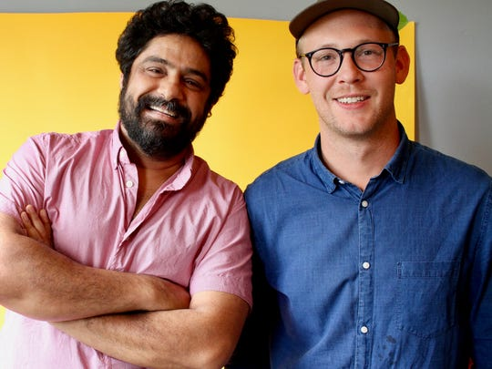 Meherwan Irani and James Grogan are behind the new Spicewalla spice factory.