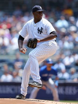 Michael Pineda went 8-4 with a 4.39 ERA in 17 starts with 92 strikeouts in 96 1/3 innings for the Yankees last season.
