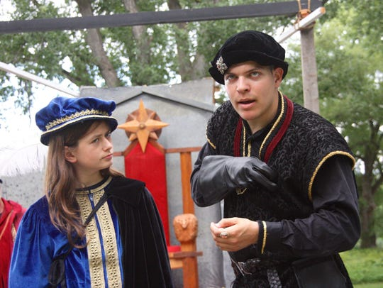 Birch Snyder Robertson (Prince Edward) and Daniel Wisniewski