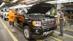 General Motors' truck plant in Wentzville Assembly