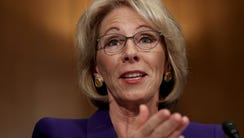 Betsy DeVos, President-elect Donald Trump's pick to