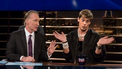 Bill Maher, and Breitbart News' Milo Yiannopoulos on