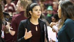 MSU student assistant coach Dominique Dillingham talks
