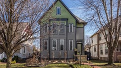 The home at 2427 N. Talbott St. is on the market for