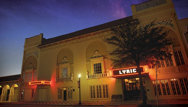 The Lyric Theatre in downtown Stuart.