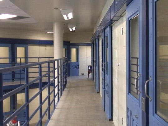 A file photo showing the inside of the Washoe County Detention Facility. Washoe County Sheriff Darin Balaam said his office has a plan in place in preparation for any future coronavirus outbreaks at the jail.