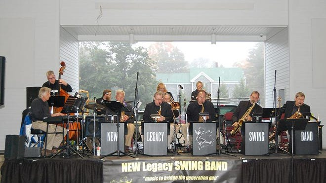 The New Legacy Swing Band concludes the Wells Harbor Concert Series on Saturday, Aug. 29 at 6:30 p.m.