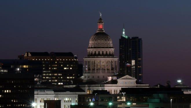 A view of Austin, Texas.