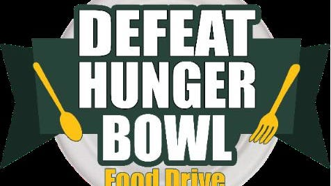 Defeat Hunger Bowl food drive from Bay Area Food Bank and Wal-Mart.