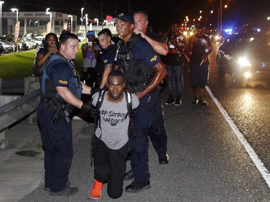 Black Lives Matter Statehouses