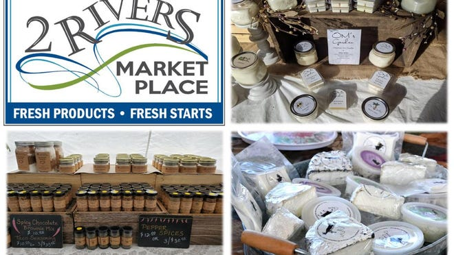 2Rivers Marketplace is opening in November at 154 Kent St. in Portland. Merchants include Dancing Goat Creamery, OM's Garden and Thomas's Natural Roots.