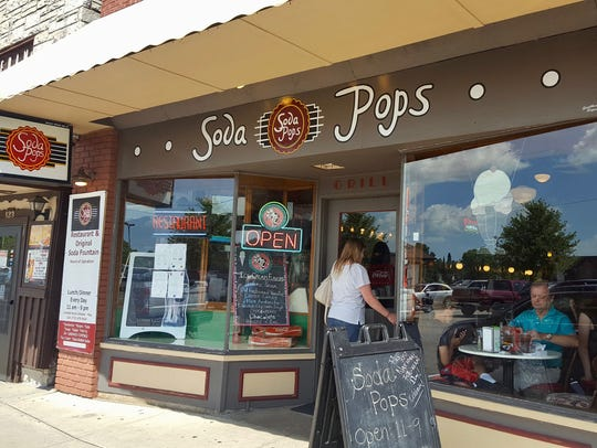 Soda Pops is an old-fashioned soda fountain and restaurant
