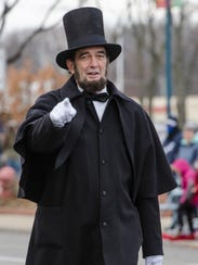 Local Abraham Lincoln tribute artist Ron Carley at