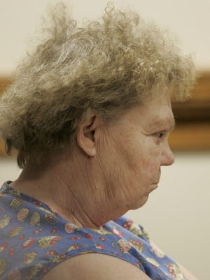 Delores Avery, mother of Steven Avery, waits for the verdict in her son's murder trial in the Calumet County Courthouse Sunday, March 18, 2007, in Chilton.