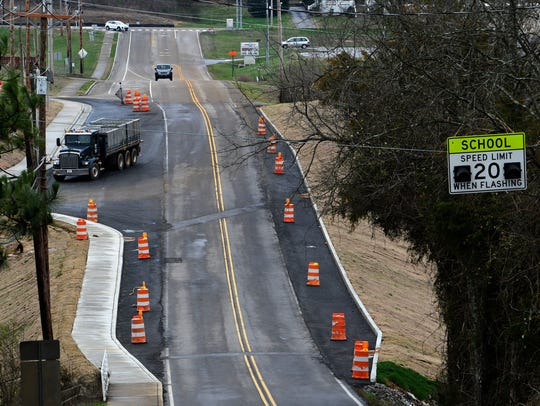 Knox County is widening Hardin Valley and Steele Roads