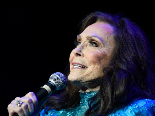 Loretta Lynn performs at the Ryman Auditorium on Friday,