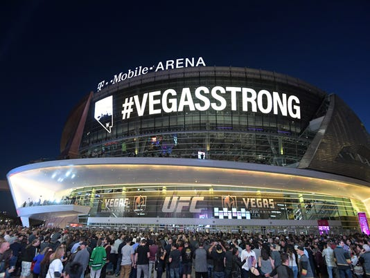 NHL: Arizona Coyotes at Vegas Golden Knights