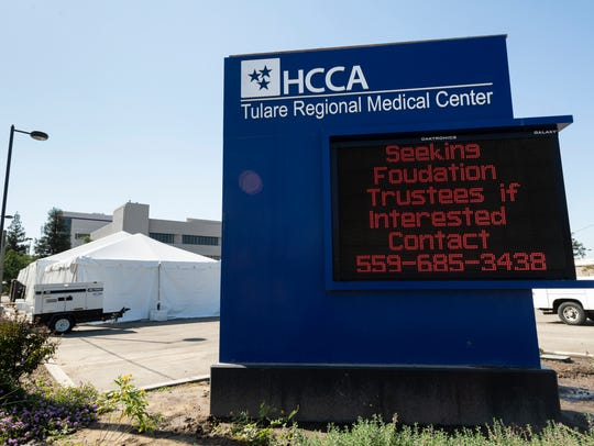 Tulare Regional Medical Center on Wednesday, October