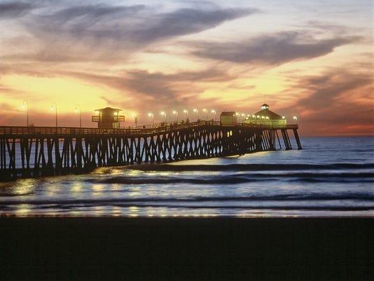 Imperial Beach Pier -Courtesy James Blank