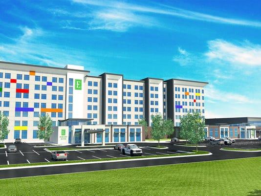 Embassy Suites rendering