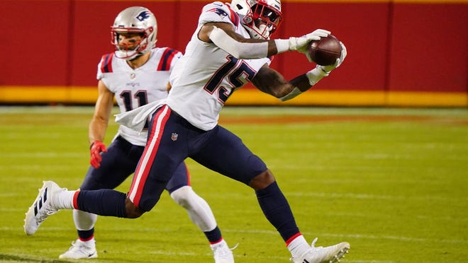 The Patriots need more from second-year wide receiver N'Keal Harry.