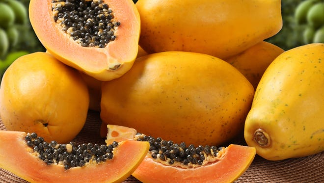 Papayas have been linked to an outbreak of Salmonella.