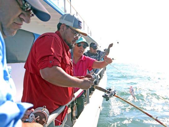 Last week's 12-hour snapper trip was full at Deep Sea