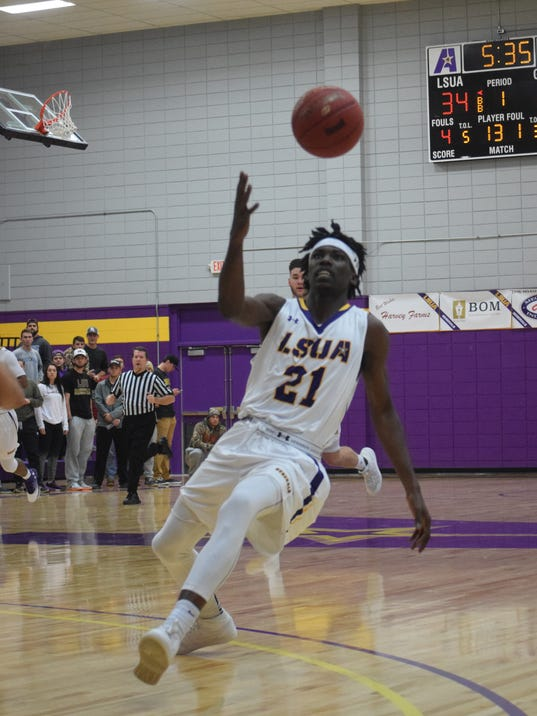 LSUA vs. Wiley College, Tuesday, Jan. 6, 2017.
