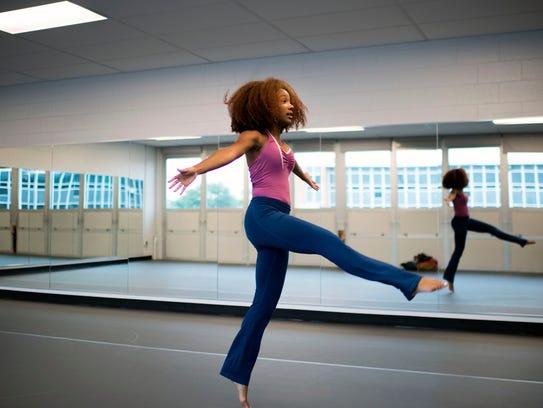 Vineland High School dance instructor N'Talia Wilson
