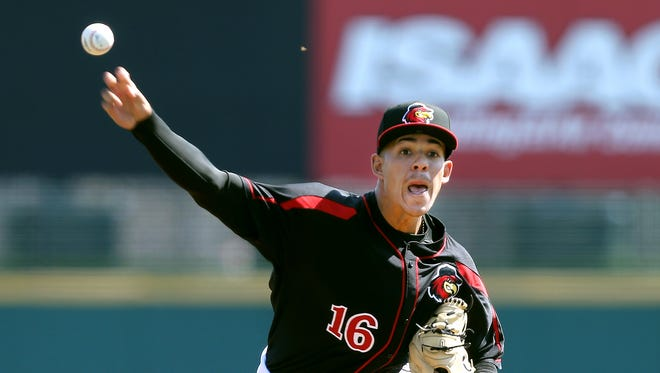 Red Wings starting pitcher Jose Berrios is the ace of the 2017 staff.
