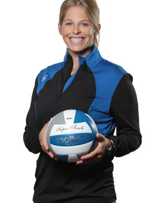 High Tide Volleyball Club founder and club director, Krissy Schmidt