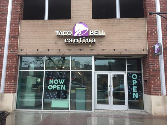 Taco Bell Cantina opened in Royal Oak last week, and