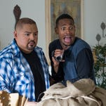"""Marlon Wayans (right) and Gabriel Iglesias in a scene from """"A Haunted House 2."""" Wayans has a series of shows scheduled for the Stress Factory in New Brunswick."""