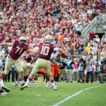 Sean Maguire passed for 348 yards and three touchdowns as Florida State defeated Syracuse 45-21.