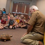 Critter Keeper teaches kids about reptiles at Easley library