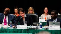 A search committee voted Thursday to advance four candidates to the finalist round of FGCU's search for a new president