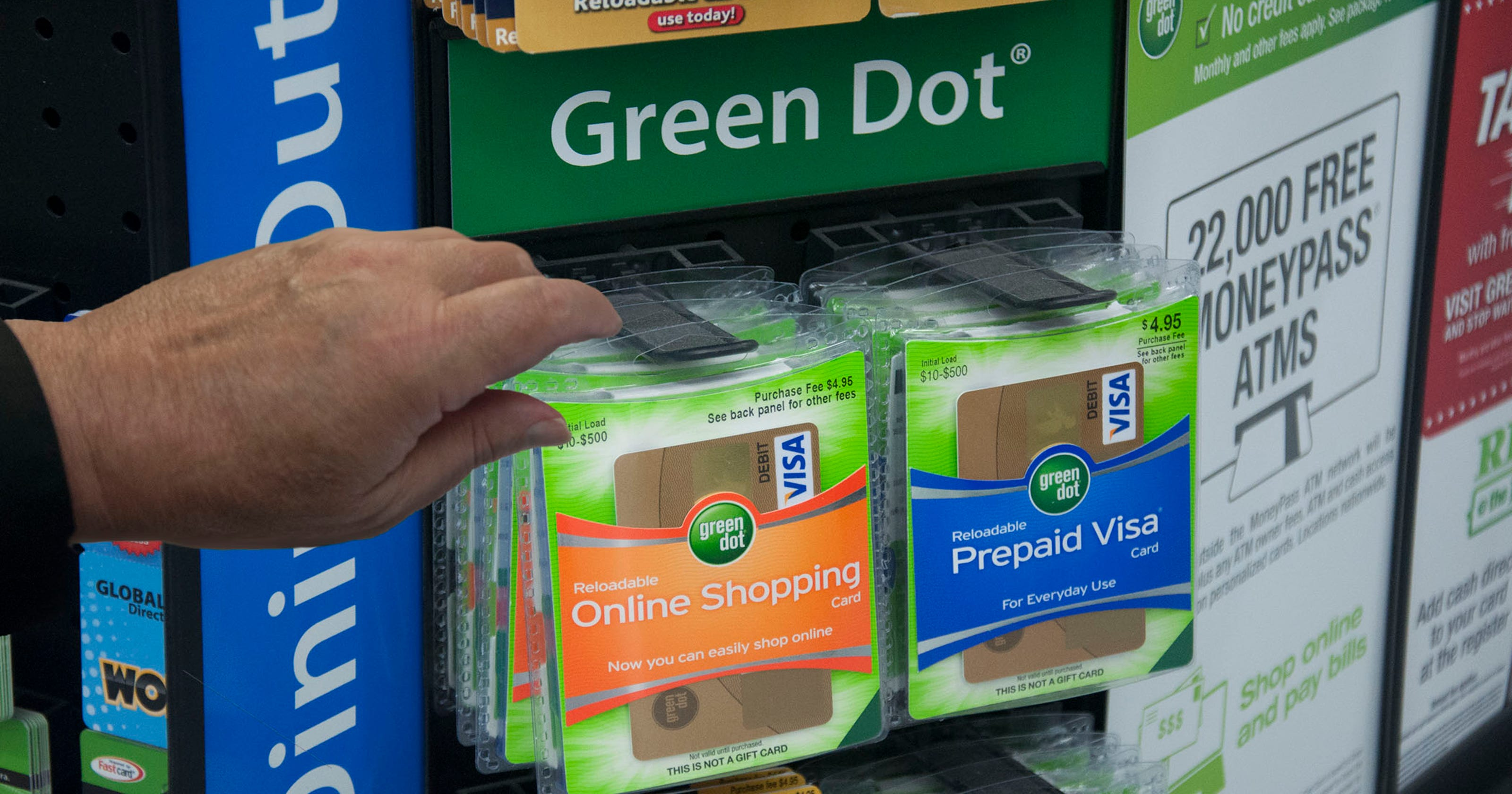 sheriff warns residents about green dot card scam - Green Dot Visa Debit Card