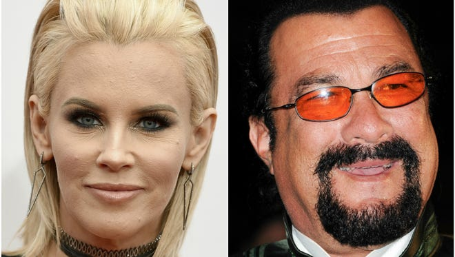 Jenny McCarthy is the latest woman to accuse actor/producer Steven Seagal of sexual harassment.