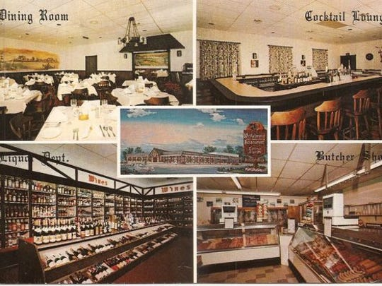 This collage shows Winkelmann's German-American Restaurant, which opened on Route 9 in Lakewood in the 1970s.