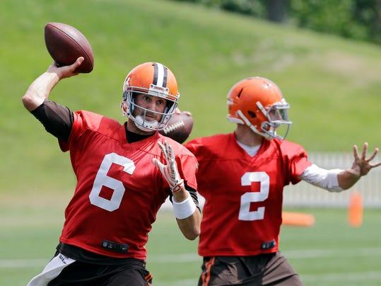 Browns QB Decision Football